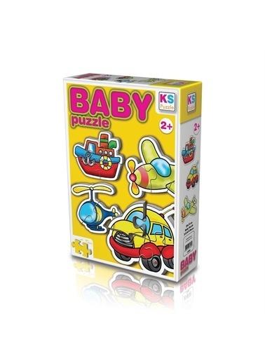KS Puzzle KS Puzzle 12003 Ulaşım Temalı Bebek Puzzle Renkli